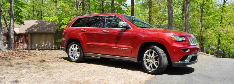 Car-Revs-Daily.com Road Test Review - 2014 Jeep Grand Cherokee Summit V6 27