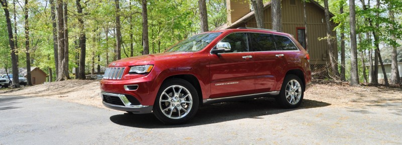 Car-Revs-Daily.com Road Test Review - 2014 Jeep Grand Cherokee Summit V6 8