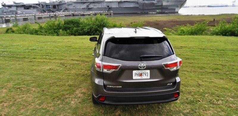 Car-Revs-Daily.com Road Test Review - 2014 Toyota Highlander XLE V6 43