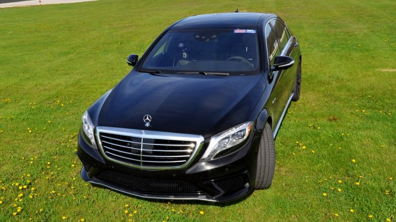 Car-Revs-Daily.com Road Test Reviews the 2015 Mercedes-Benz S63 AMG 100