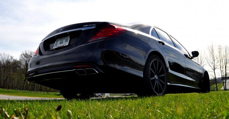 Car-Revs-Daily.com Road Test Reviews the 2015 Mercedes-Benz S63 AMG 106