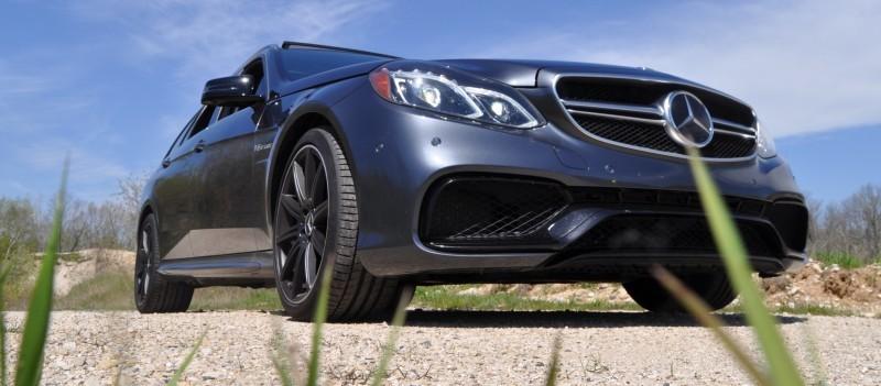 Car-Revs-Daily.com Road Tests the 2014 Mercedes-Benz E63 AMG S-Model Estate 42