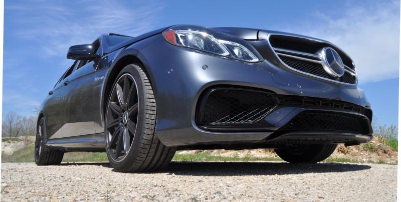 Car-Revs-Daily.com Road Tests the 2014 Mercedes-Benz E63 AMG S-Model Estate 44