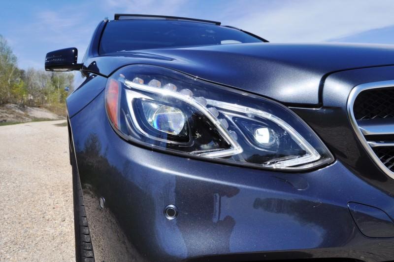 Car-Revs-Daily.com Road Tests the 2014 Mercedes-Benz E63 AMG S-Model Estate 49