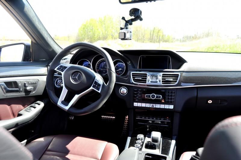 Car-Revs-Daily.com Road Tests the 2014 Mercedes-Benz E63 AMG S-Model Estate 53
