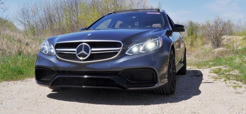 Car-Revs-Daily.com Road Tests the 2014 Mercedes-Benz E63 AMG S-Model Estate 7