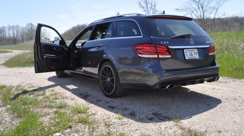 Car-Revs-Daily.com Road Tests the 2014 Mercedes-Benz E63 AMG S-Model Estate 70