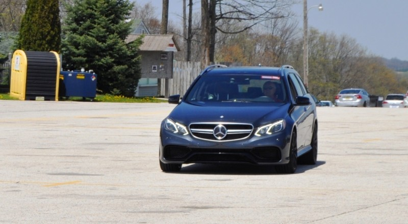 Car-Revs-Daily.com Road Tests the 2014 Mercedes-Benz E63 AMG S-Model Estate 81