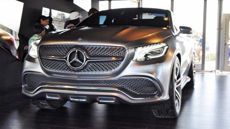 Car-Revs-Daily.com USA Debut in 80 New Photos - 2014 Mercedes-Benz Concept Coupé SUV  13