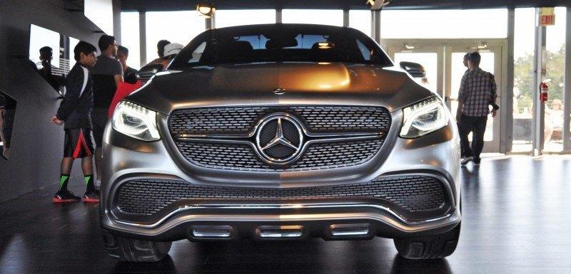 Car-Revs-Daily.com USA Debut in 80 New Photos - 2014 Mercedes-Benz Concept Coupé SUV  17