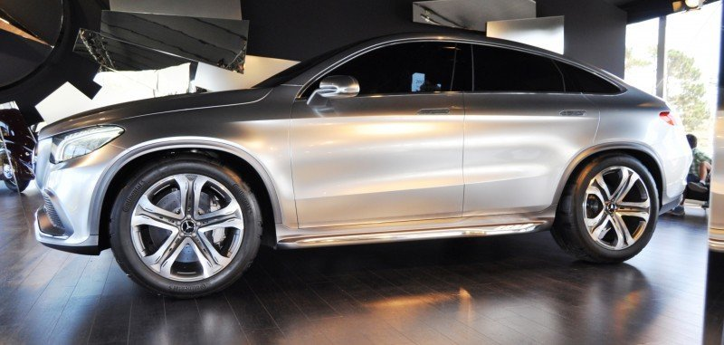 Car-Revs-Daily.com USA Debut in 80 New Photos - 2014 Mercedes-Benz Concept Coupé SUV  25
