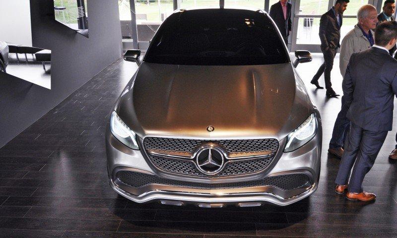 Car-Revs-Daily.com USA Debut in 80 New Photos - 2014 Mercedes-Benz Concept Coupé SUV  62
