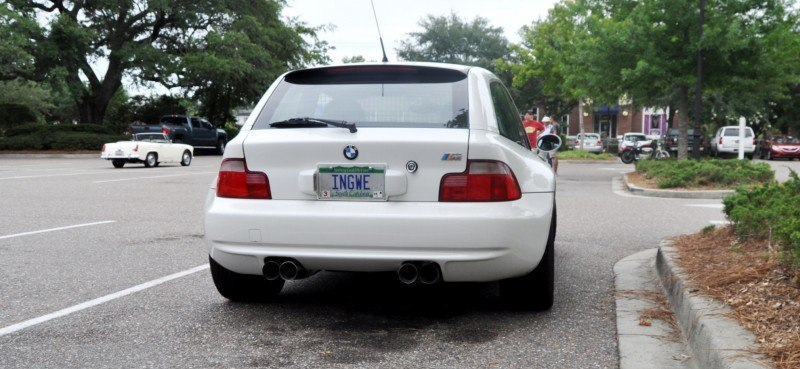 Charleston Cars & Coffee Gallery - 1999 BMW M Coupe - Vunder-BreadVan in White 16