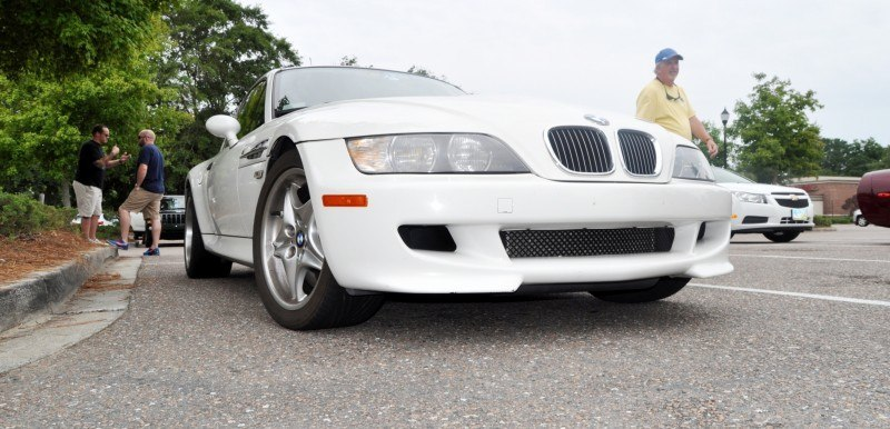 Charleston Cars & Coffee Gallery - 1999 BMW M Coupe - Vunder-BreadVan in White 25