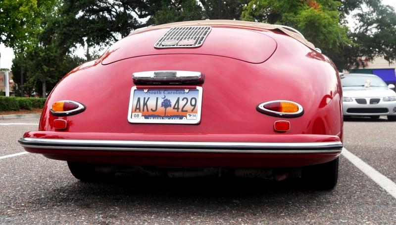 Charleston Cars and Coffee - 1955 Porsche 356 1500S Speedster 4