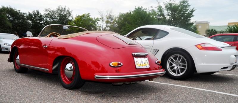 Charleston Cars and Coffee - 1955 Porsche 356 1500S Speedster 5