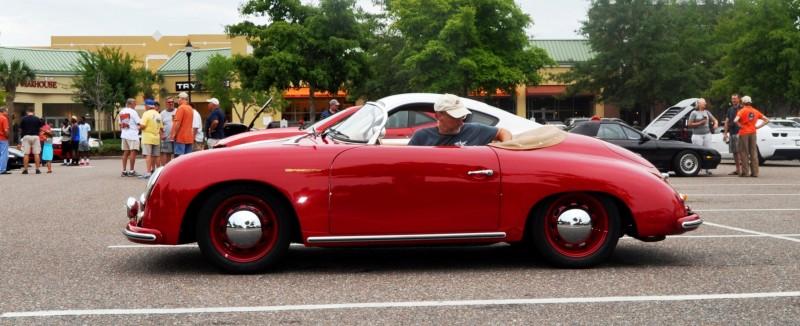 Charleston Cars and Coffee - 1955 Porsche 356 1500S Speedster 8