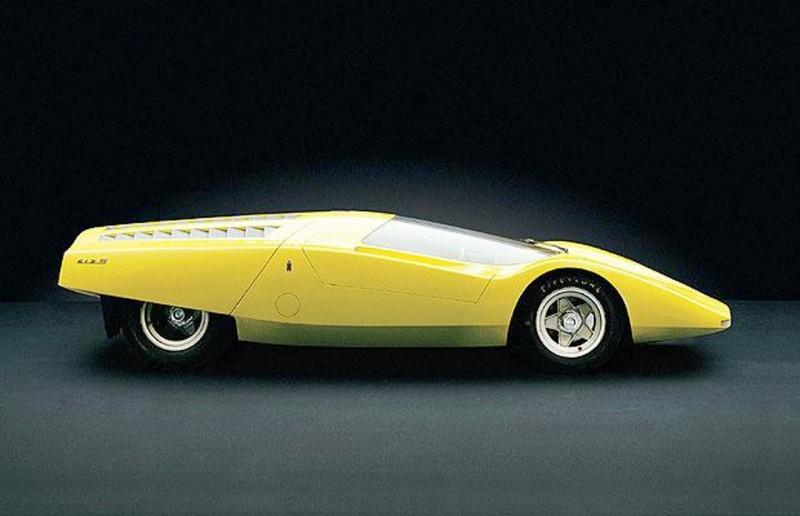 Concept Flashback - 1969 Ferrari 512 S Coupe Speciale by Pininfarina in Leopard Onesite at Granite Mine 3