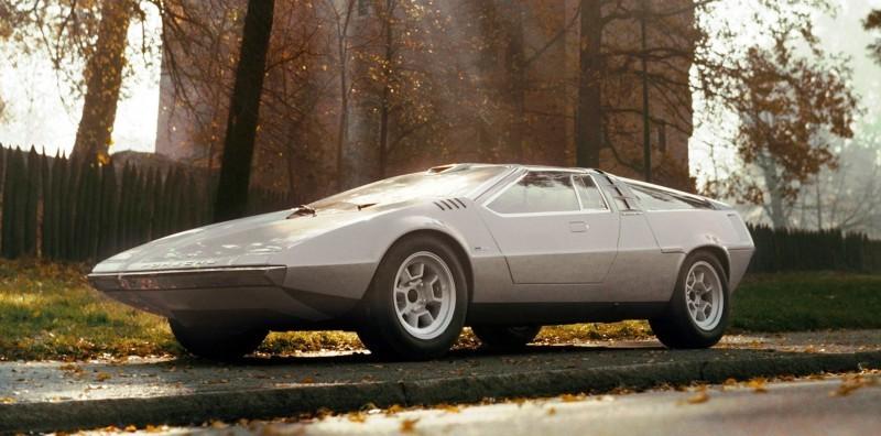Concept Flashback - 1970 Volkswagen Porsche Tapiro by ItalDesign 5