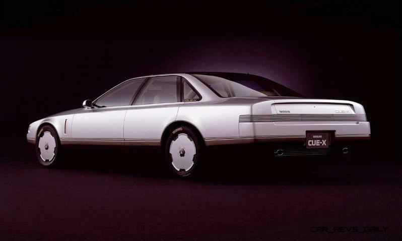 Concept Flashback - 1985 Nissan Cue-X Inspired Original Infiniti Q45 Flagship and Future Q80 19