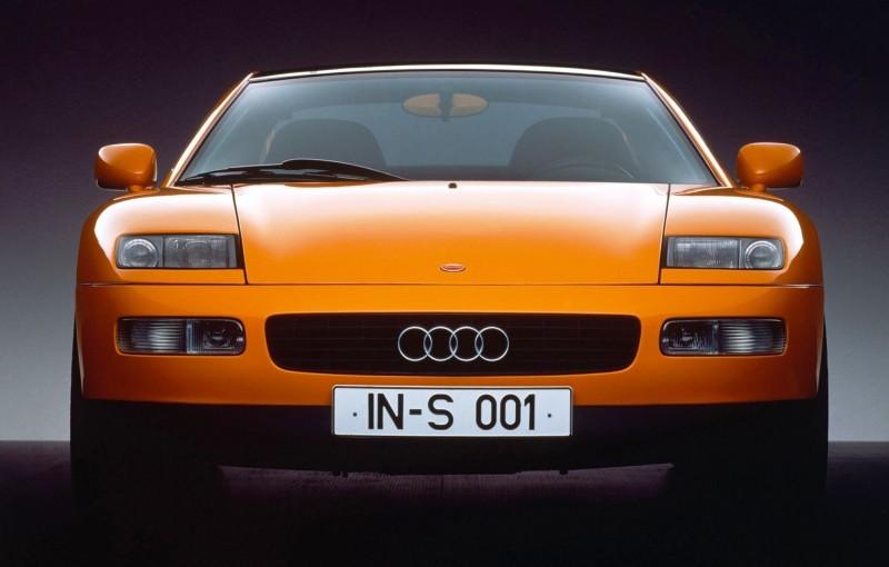 Concept Flashback - 1991 Audi Quattro Spyder Provides Clean, Modern Design Roadmap for Struggling Brand 13