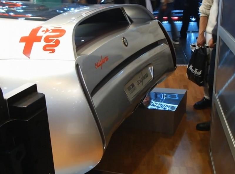 Concept Flashback - 1997 Alfa Romeo Scighera is Mid-Engine Twin-Turbo V6 Hypercar 13