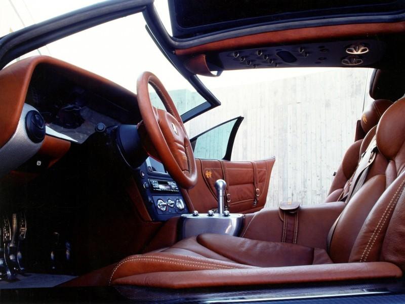 Concept Flashback - 1997 Alfa Romeo Scighera is Mid-Engine Twin-Turbo V6 Hypercar 21
