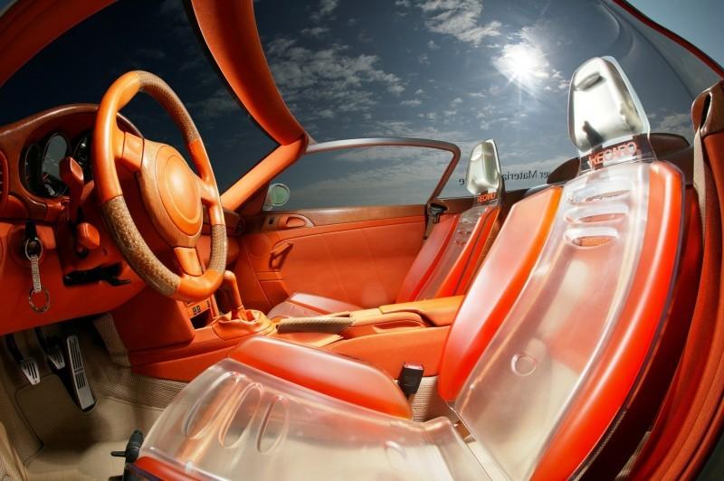 Concept Flashback - 2006 RINSPEED ZaZen is Porsche 911 with Clear Bubble Hardtop 13