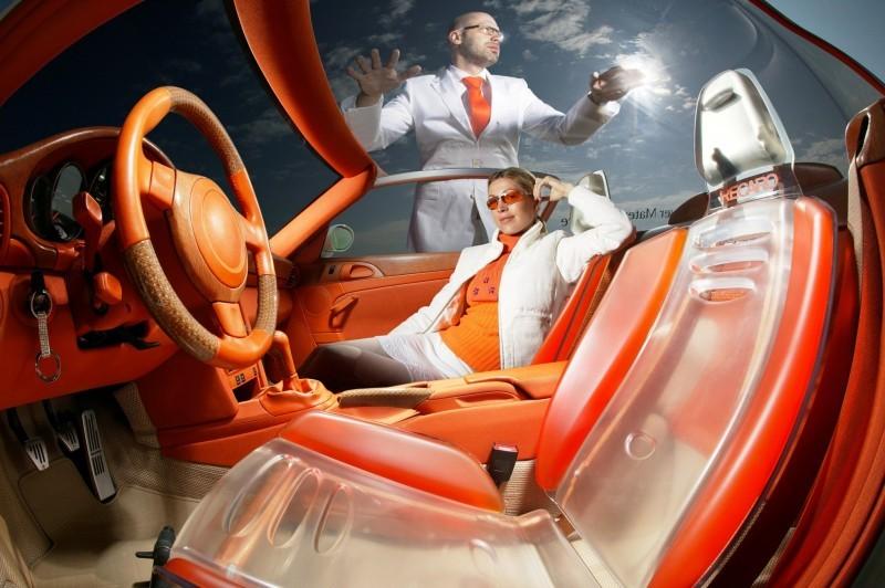 Concept Flashback - 2006 RINSPEED ZaZen is Porsche 911 with Clear Bubble Hardtop 14