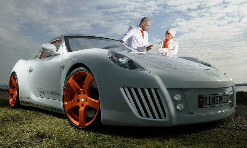 Concept Flashback - 2006 RINSPEED ZaZen is Porsche 911 with Clear Bubble Hardtop 19