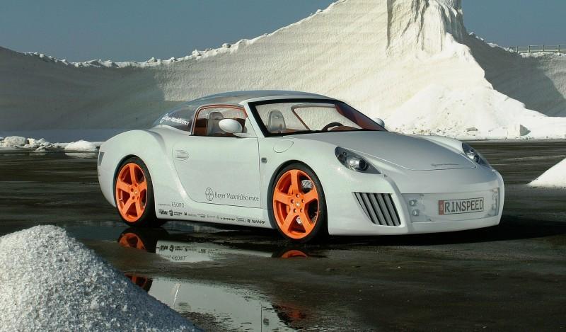 Concept Flashback - 2006 RINSPEED ZaZen is Porsche 911 with Clear Bubble Hardtop 25