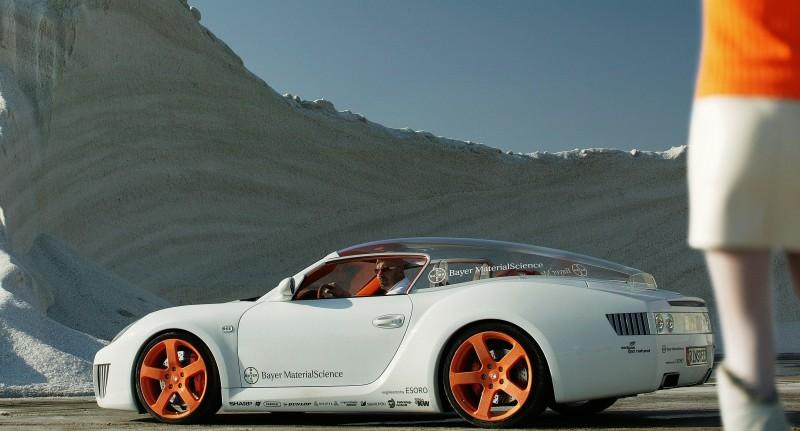 Concept Flashback - 2006 RINSPEED ZaZen is Porsche 911 with Clear Bubble Hardtop 28