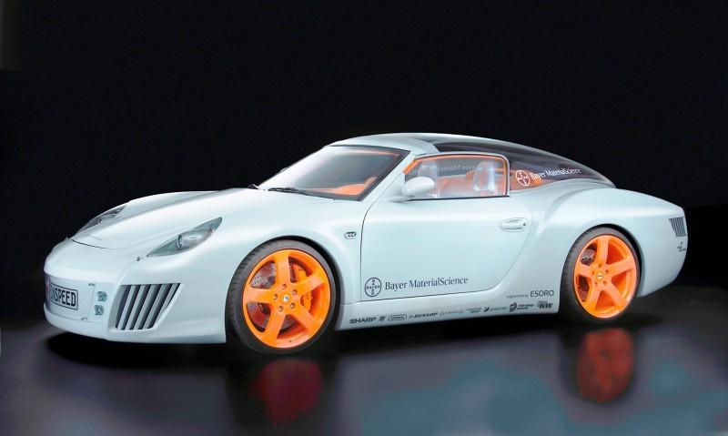 Concept Flashback - 2006 RINSPEED ZaZen is Porsche 911 with Clear Bubble Hardtop 38