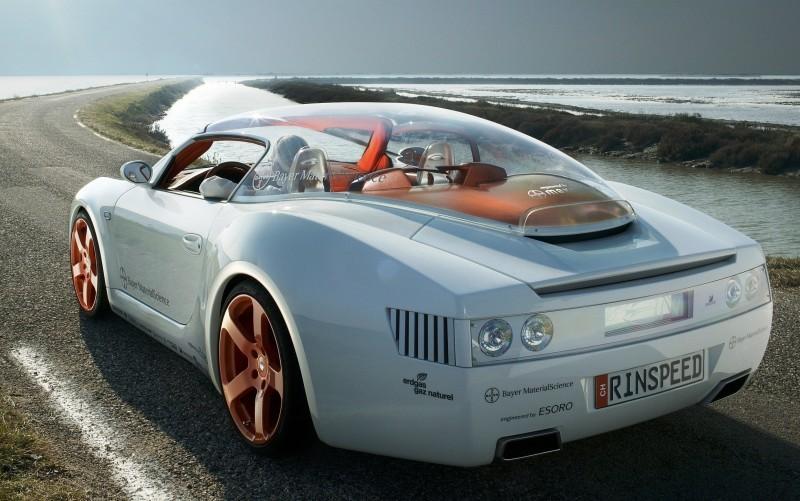 Concept Flashback - 2006 RINSPEED ZaZen is Porsche 911 with Clear Bubble Hardtop 5