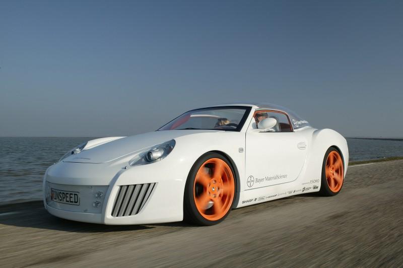 Concept Flashback - 2006 RINSPEED ZaZen is Porsche 911 with Clear Bubble Hardtop 8
