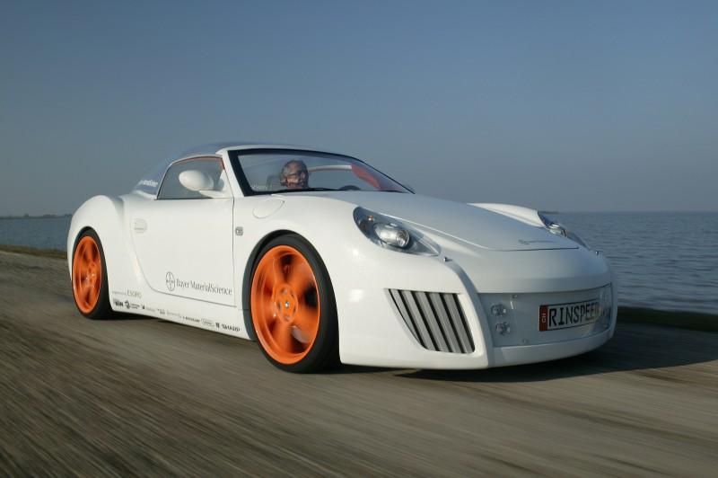 Concept Flashback - 2006 RINSPEED ZaZen is Porsche 911 with Clear Bubble Hardtop 9
