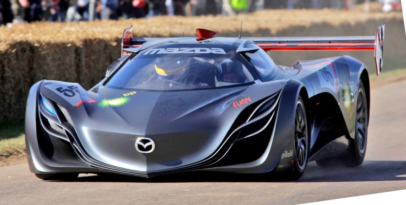 Concept Flashback - 2008 Mazda Furai is 450HP Rotary LMP2 Car That Met Two Tragic Ends 3