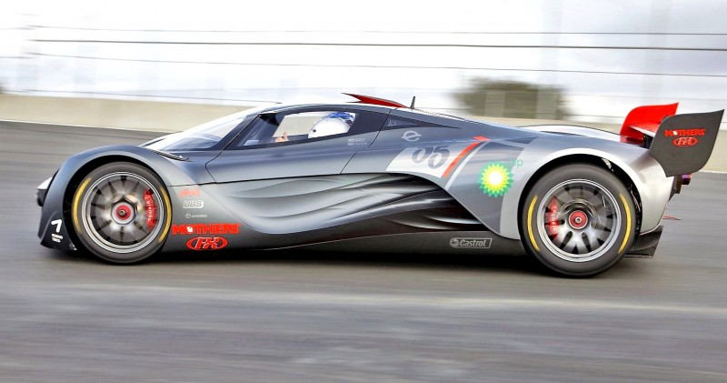 Concept Flashback - 2008 Mazda Furai is 450HP Rotary LMP2 Car That Met Two Tragic Ends 30