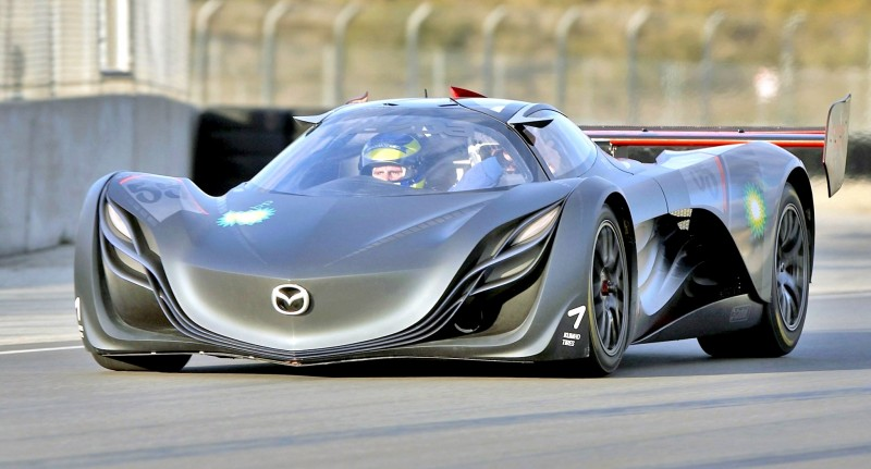 Concept Flashback - 2008 Mazda Furai is 450HP Rotary LMP2 Car That Met Two Tragic Ends 31