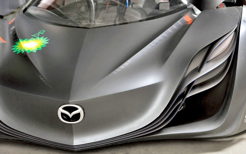 Concept Flashback - 2008 Mazda Furai is 450HP Rotary LMP2 Car That Met Two Tragic Ends 33