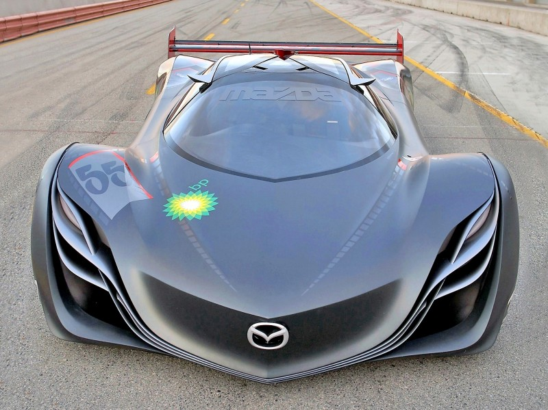 Concept Flashback - 2008 Mazda Furai is 450HP Rotary LMP2 Car That Met Two Tragic Ends 35