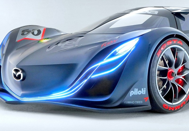 Concept Flashback - 2008 Mazda Furai is 450HP Rotary LMP2 Car That Met Two Tragic Ends 8