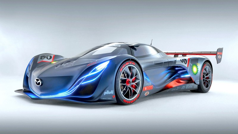 Concept Flashback - 2008 Mazda Furai is 450HP Rotary LMP2 Car That Met Two Tragic Ends 9