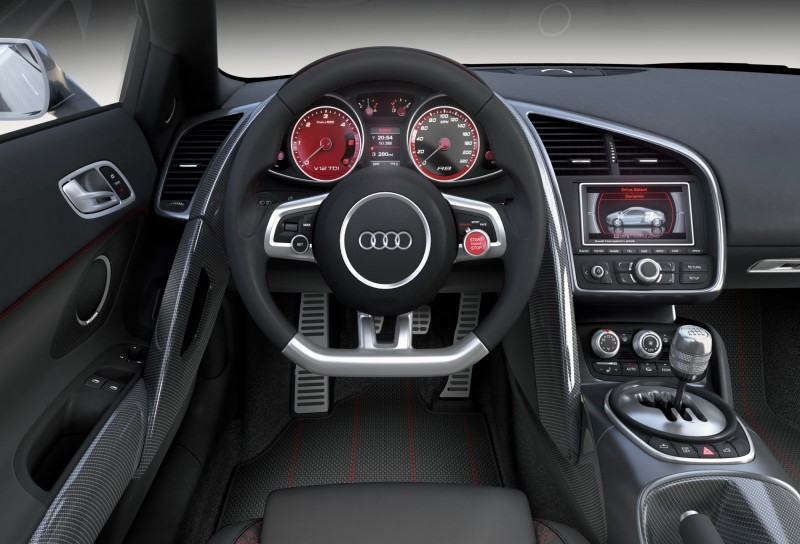 Concept Flashback - 2009 Audi R8 TDI V12 Shows Great Engineering Potential, But Limited Market 9