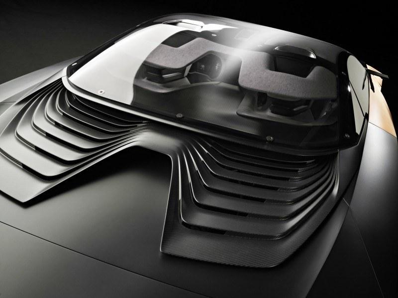 Concept Flashback - 2012 Peugeot ONYX Is Mixed-Media Hypercar Delight 5