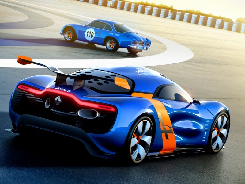 Concept Flashback - 2012 Renault Alpine A110-50 A Blend of M64 and A110 Berlinette 43
