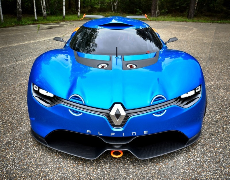 Concept Flashback - 2012 Renault Alpine A110-50 A Blend of M64 and A110 Berlinette 49