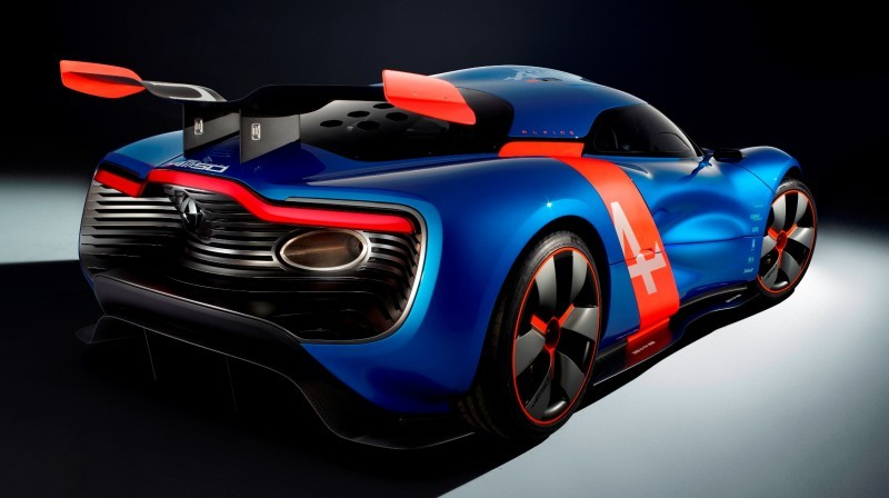 Concept Flashback - 2012 Renault Alpine A110-50 A Blend of M64 and A110 Berlinette 61