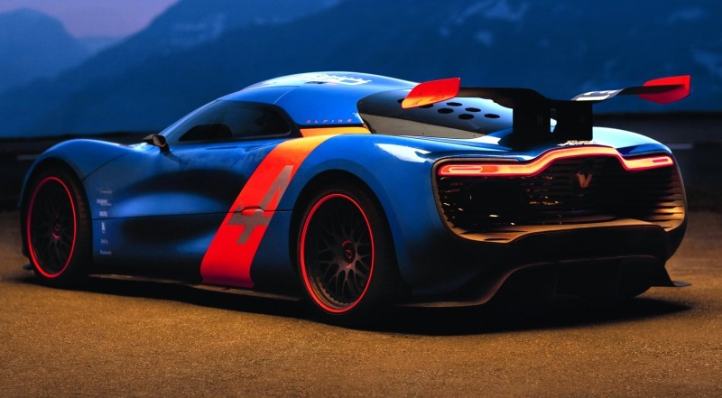 Concept Flashback - 2012 Renault Alpine A110-50 A Blend of M64 and A110 Berlinette 83