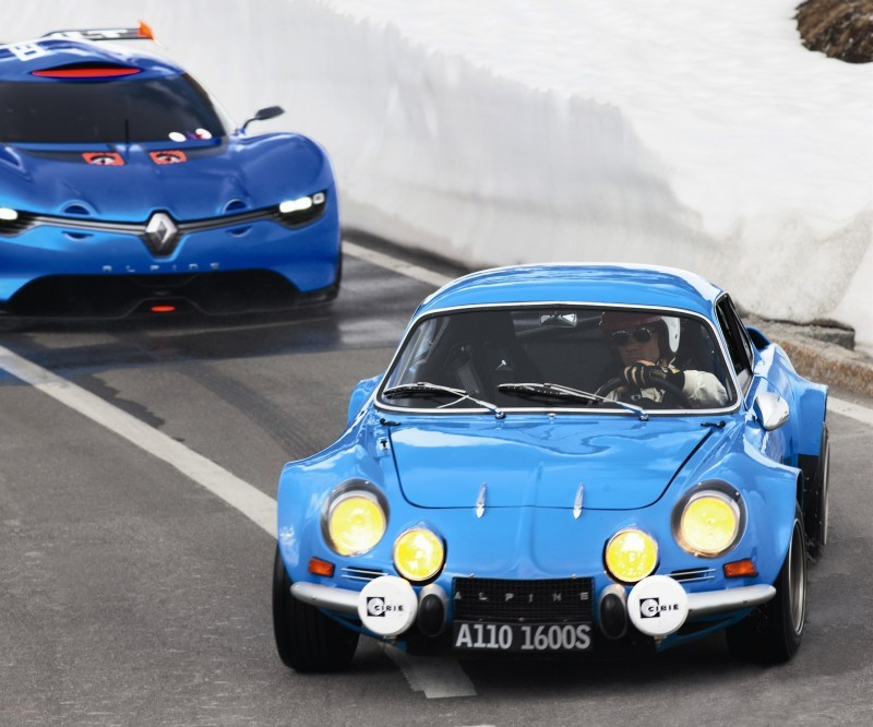 Concept Flashback - 2012 Renault Alpine A110-50 A Blend of M64 and A110 Berlinette 86